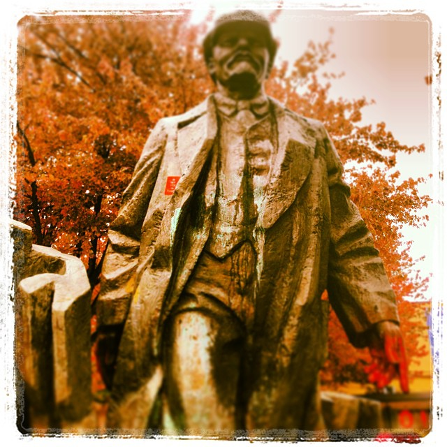 Lenin in Fall