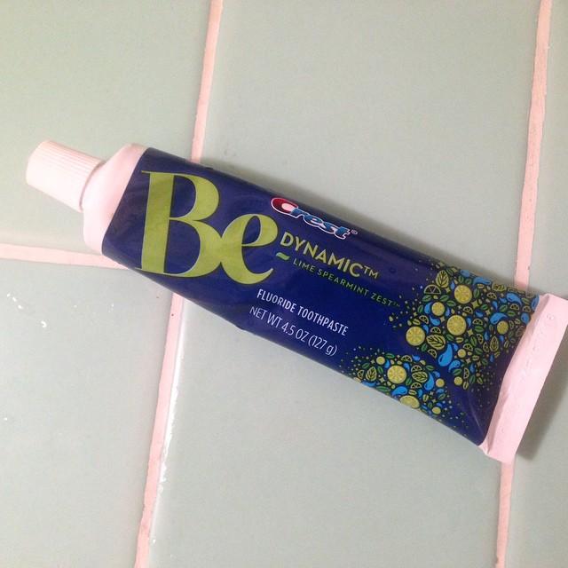 My new gross toothpaste tastes like mojito..
