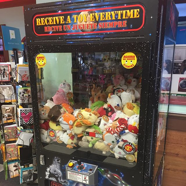 New claw game #murica